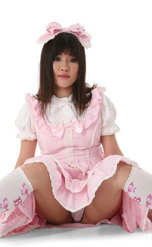 Upskirts pregnant asian women